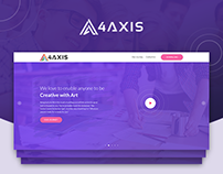4Axis - Digital Technology Website