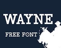 Wayne - Free Modern Western Slab Serif