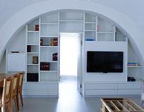 Traditional house renovation in jerusalem