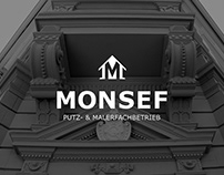 CORPORATE DESIGN Monsef Putz- & Malerfachbetrieb