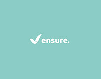 ensure. visual identity