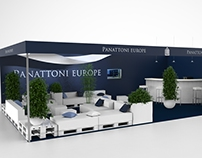 Trade fair booth for Panattoni Europe