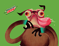 Mountain Dew Mascot Mixer