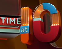 Channel 5 - 10pm Timebelt Branding