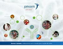 Janssen's medical events Visual Identity