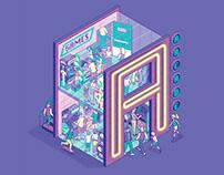 Arcade - Lettera40