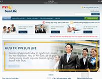 PVI Sun Life Pension Website