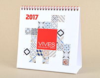 VIVES - CALENDARIO 2017