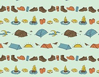 100 Days of Patterns Project: Tents