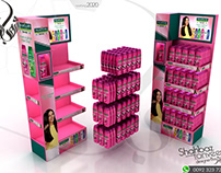 Palmolive 4 Primary Displays Design