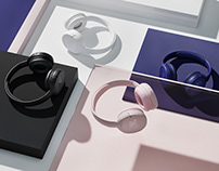 JBL Headphones CGI