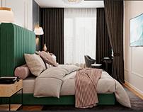 Дизайн-проект четырехкомнатной квартиры в ЖК Ривер-Парк