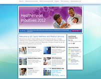 GE Capital Wellness and Medical Center Website