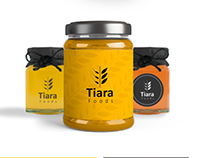 Tiara logo and brand identity design