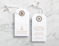 Au Fait Mama Branding, Stationary and Label Program