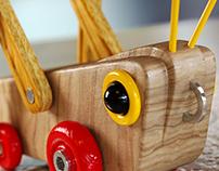 GrassHopper - Wooden Toy