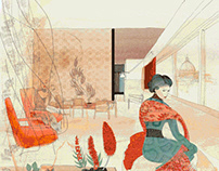 Watercolor Animation, Fashion Japan style