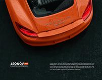 LEONOV auto - Логотип и фирменный стиль