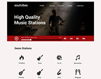 soulvibes web template