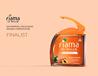 Fiama showergel packaging for women