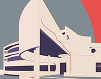 Architecture poster #7 Hans Scharoun