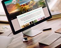 UI & UX Web Design: Lodge on the Desert Bed & Breakfast