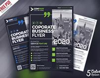 Multipurpose Corporate Flyer PSD Bundle