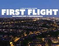 First Flight - Phantom 3