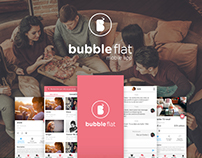 Bubbleflat Mobile App