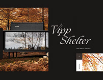 Vipp Shelter Hotel Landing Page Concept