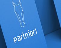 Partniori Logo and Concept