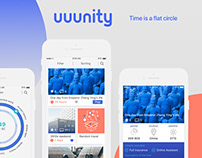 Uuunity App for Time Traveler