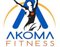 Akoma Fitness Branding