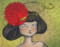 Kvitka Cisyk - book illustration