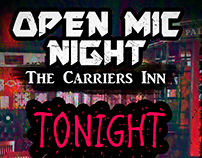 Open Mic Night @ The Carriers Inn
