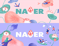Naver special logo project