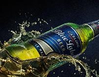 Carling Blue Label: Taste website