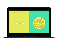 Lemonade | Web Design | UX UI