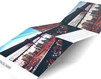 8x8 Tri Fold Mockup PSD