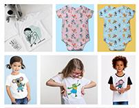 Clothes design for children