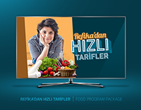 REFİKA'DAN HIZLI TARİFLER | FOOD PROGRAM PACKAGE