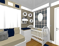 PROJETO: dormitório bebê menino