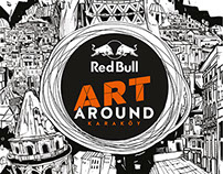 Red Bull Art Around - Key visual