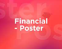 Financial posters