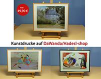 Online Shop auf DaWanda