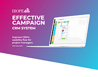 Improve CRM's usability flow for Project Managers