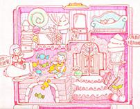 1996  Polly Pocket Sweet Treat Shoppe