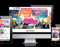 Webdesign FDP Bayern