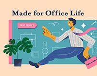 Office worker campaign