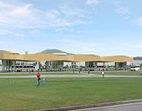 Temporary Bus Terminal I - Panamá Pacífico, PA